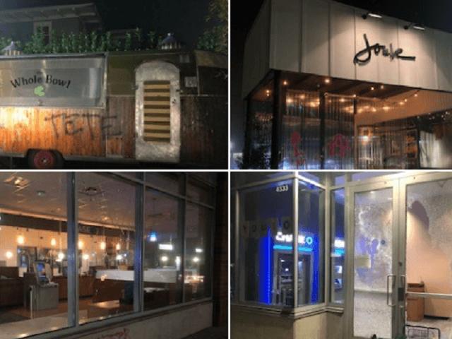 100+ Antifa Rioters Vandalized Portland Buildings -- No Arrests