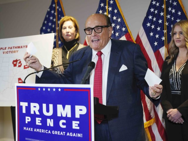 Rudy Giuliani (Jacquelyn Martin / Associated Press)
