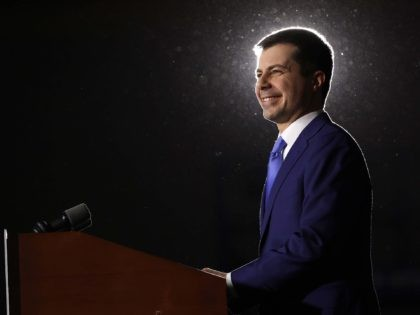 Saint Pete Buttigieg (Win McNamee / Getty)