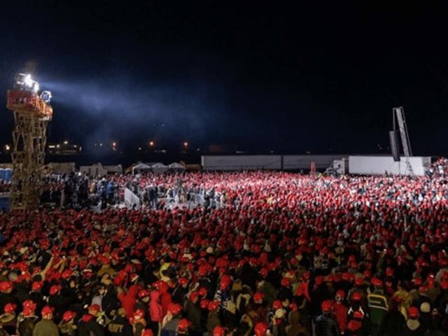Kenosha, Wisconsin rally (Tim Murtaugh / Twitter)