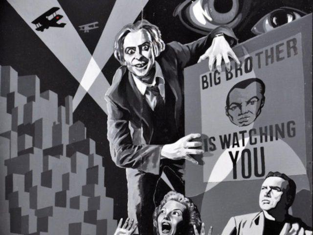 """""""Big Brother"""" mural, Belfast"""