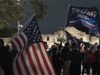 'Fine Me:' Texas Trump Supporters Defy COVID-19 Curfew near the Alamo