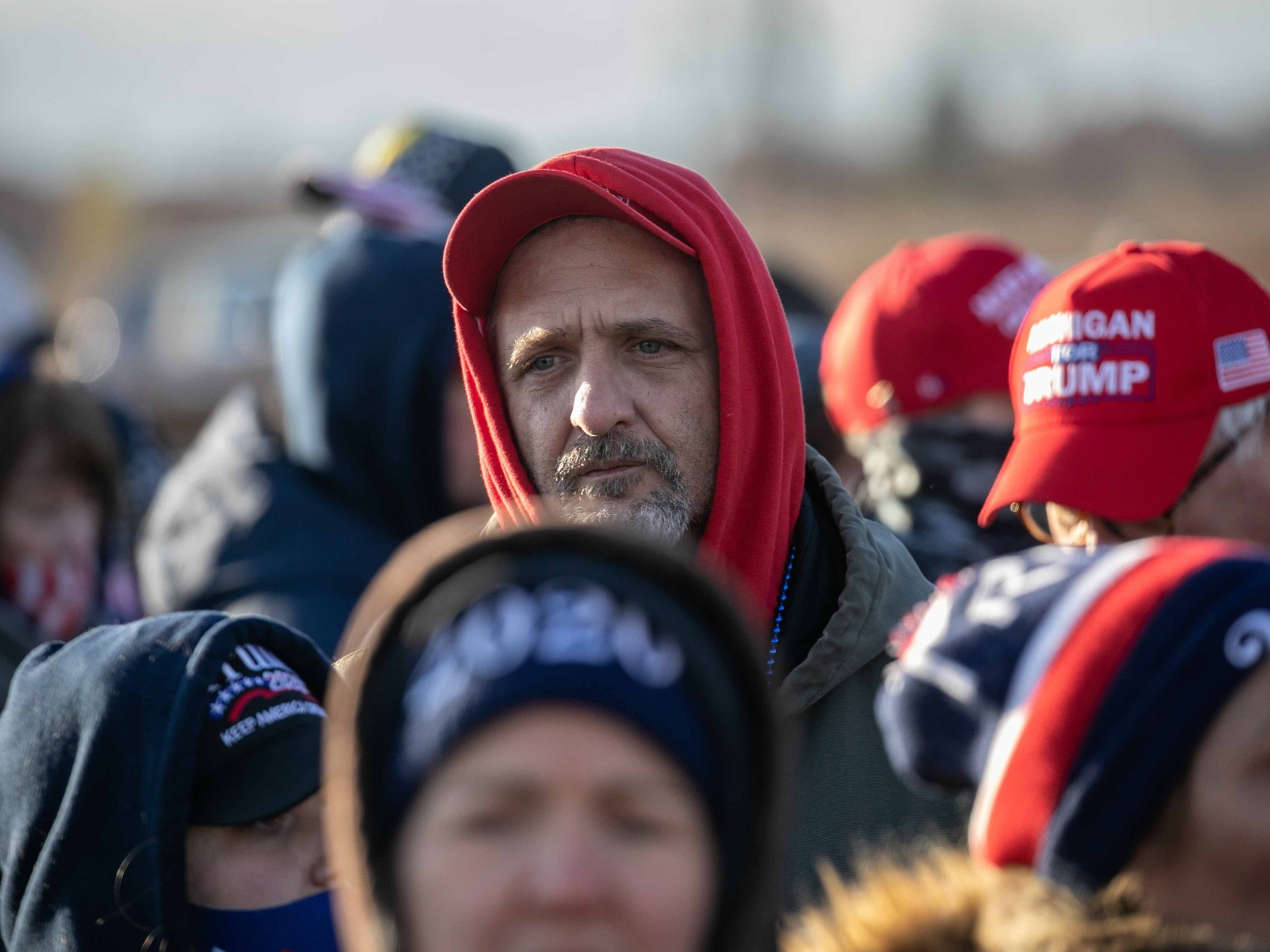 Trump supporters Michigan (John Moore / Getty)