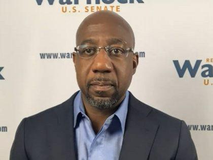 Raphael Warnock during 11/9/2020 Gray DC interview