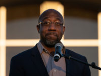 Video: Raphael Warnock Mocks Churchgoers Having Guns for Self-Defense