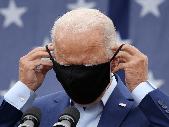 masks Biden