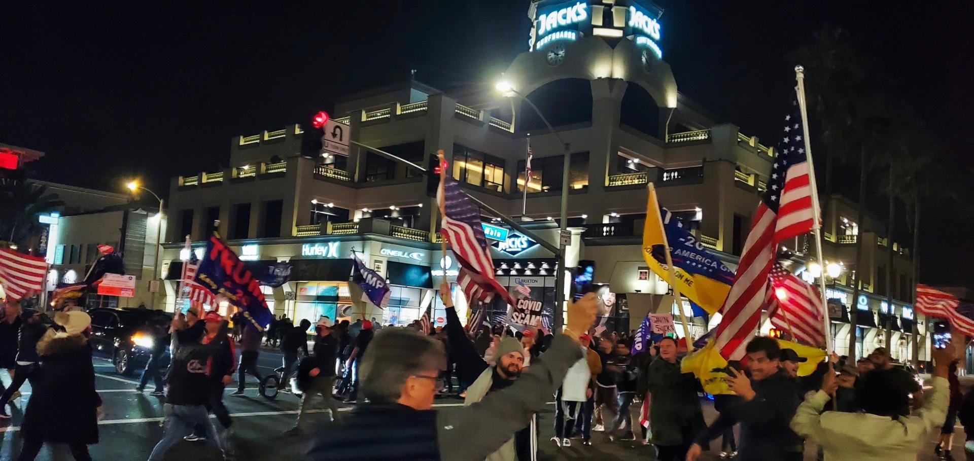 Californians Defy Gov. Newsom Curfew Order, Flood Streets in 16 Cities 2