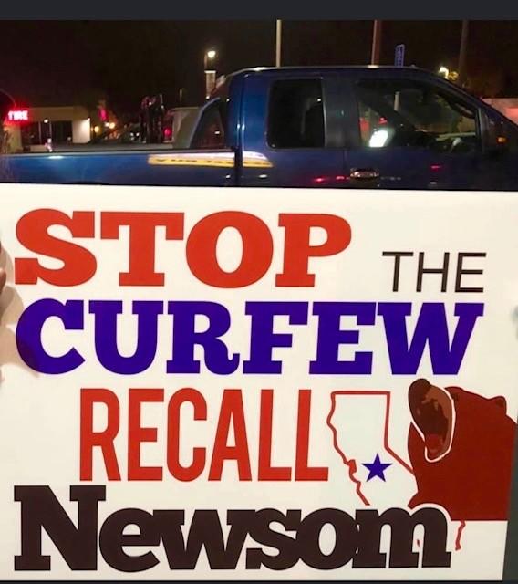 Californians Defy Gov. Newsom Curfew Order, Flood Streets in 16 Cities 3