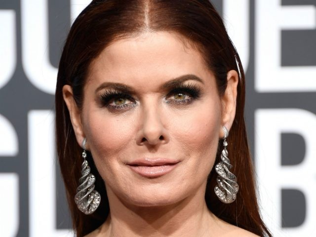 BEVERLY HILLS, CA - JANUARY 06: Debra Messing attends the 76th Annual Golden Globe Awards at The Beverly Hilton Hotel on January 6, 2019 in Beverly Hills, California. (Photo by Frazer Harrison/Getty Images)