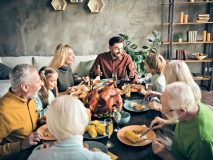 Thanksgiving Poll: 53% of Parents Say 'Very Important' for Children to Visit Family, 35% Say Worth the Risk of Virus Exposure
