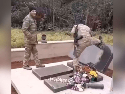Armenians Accuse Soldiers from Azerbaijan of Desecrating Graves in Nagorno-Karabakh