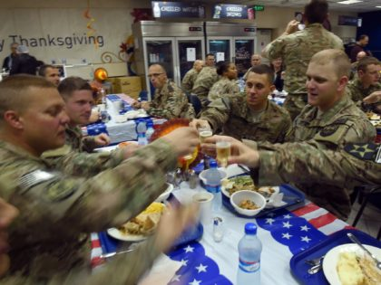 Thanksgiving: 51K Pounds of Roasted Turkey, Other Holiday Treats Flown to U.S. Warfighters Overseas