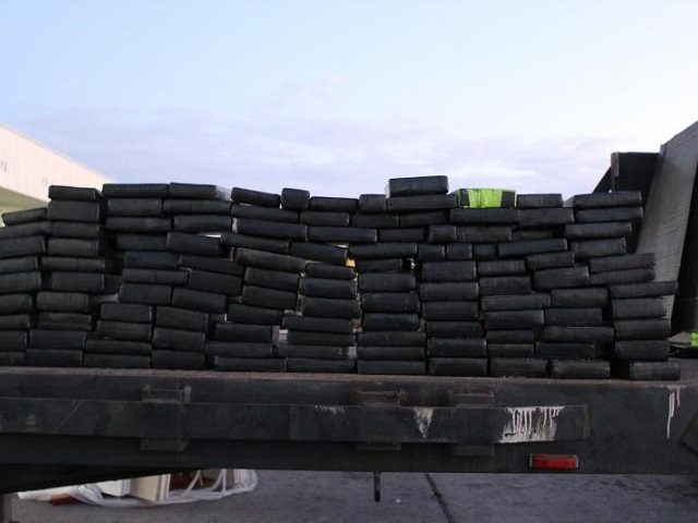 CBP officers seized more than 250 pounds of cocaine at the World Trace Bridge in Laredo, Texas. (Photo: U.S. Customs and Border Protection/Laredo Port of Entry)