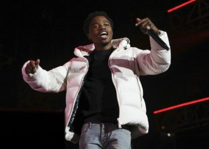 Roddy Ricch performs at the 7th annual BET Experience in Los Angeles on June 21, 2019. Ricch is nominated for eight American Music Awards. The 2020 American Music Awards will air live on Nov. 22 on ABC. (Photo by Mark Von Holden/Invision/AP, File)