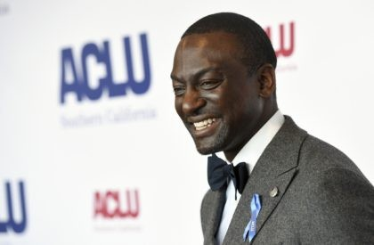 Honoree Yusef Salaam poses at the ACLU SoCal's 25th Annual Luncheon in Los Angeles on June 7, 2019. Salaam, one of the five teens wrongly imprisoned for the assault of a Central Park jogger, has a memoir coming out in the spring. Grand Central Publishing announced Monday that it had …