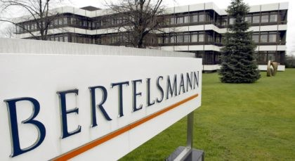 - This March 13, 2003 file photo shows an exterior view of the German media giant Bertelsmann in Guetersloh, Germany. German media giant Bertelsmann said Wednesday that it is buying publisher Simon & Schuster from ViacomCBS for $2.17 billion in cash. (AP Photo/Michael Sohn, file)