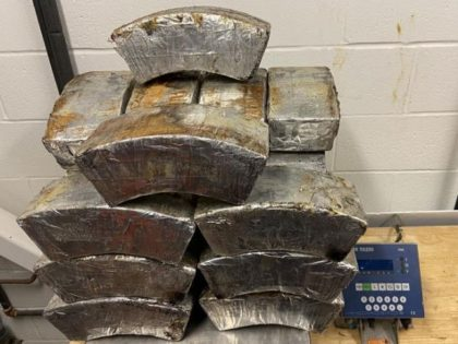 CBP officers seize more than 160 pounds of methamphetamine at the Anzalduas International Bridge. (Photo: U.S. Customs and Border Protection)
