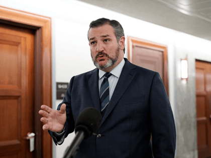 Sen. Ted Cruz, R-Texas, arrives and speaks to the media before for a Senate Judiciary Committee business meeting, Thursday morning, Oct. 22, 2020, on Capitol Hill in Washington, where the nomination of Judge Amy Coney Barrett, will have a committee vote. A vote by the full Senate could come next …
