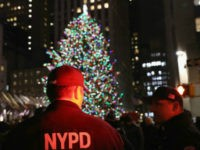NYC Uses Police Buses, Plastic Sheets to Block View of Tree Lighting