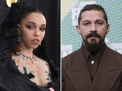 "This combination photo shows FKA twigs, left, at the 62nd annual Grammy Awards on Jan. 26, 2020, in Los Angeles and Shia LaBeouf at the premiere of ""The Peanut Butter Falcon"" during the London Film Festival on Oct. 3, 2019. FKA twigs filed a lawsuit Friday, Dec. 11, 2020, alleging …"