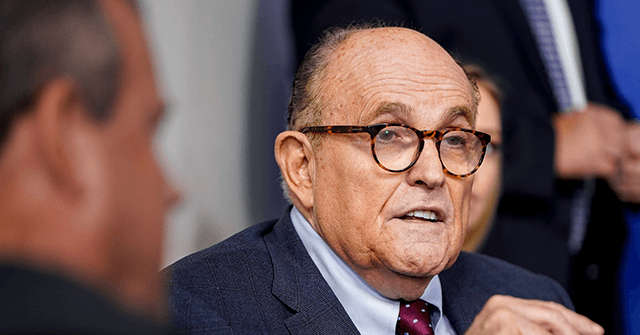 Rudy Giuliani: 'I Don't Know' Why Fox News Banned Me -- 'They Haven't Given Me a Reason'