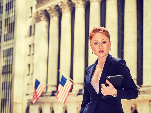 Woman on Wall Street