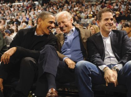 Hunter Biden, Joe Biden, Barack Obama (Mitchell Layton / Getty)