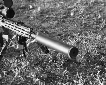 The Phoenix Weaponry .30 caliber suppressor provides superior hearing protection by taking the sharp, ear-splitting report out of rounds like the .308, 6.5 Creedmoor, 6.8 SPC (Special Purpose Cartridge), and others of a similar style.