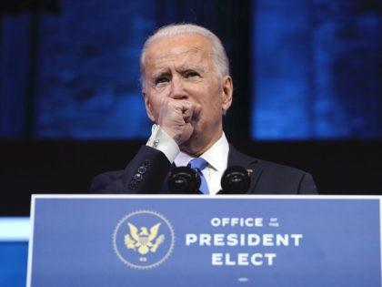 Joe Biden Electoral College speech (Drew Angerer / Getty)