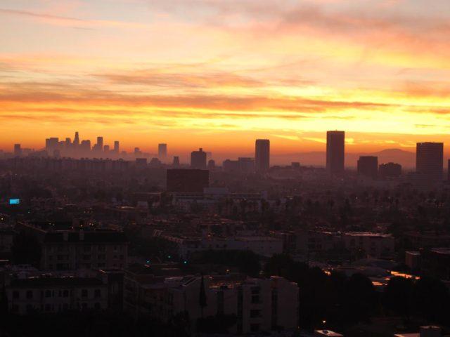 Los Angeles skyline sunset (Josh Friedman / Flickr)