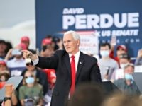 Mike Pence: 'Stay in the Fight,' Reelect David Perdue and Kelly Loeffler