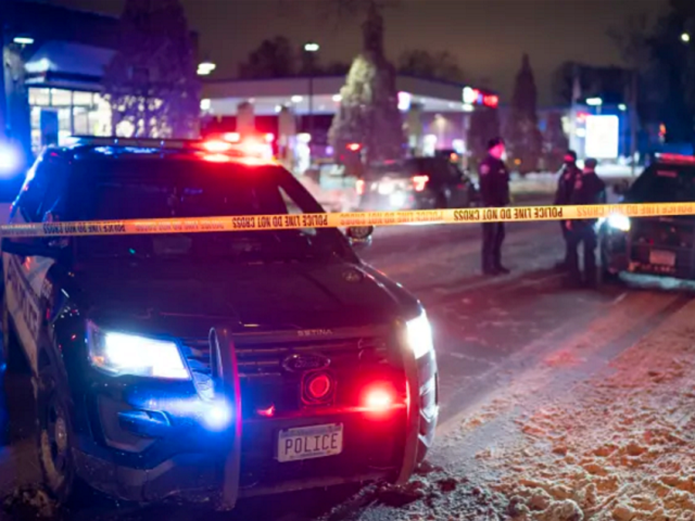 Minneapolis police officer-involved shooting on December 30. (AP Photo)