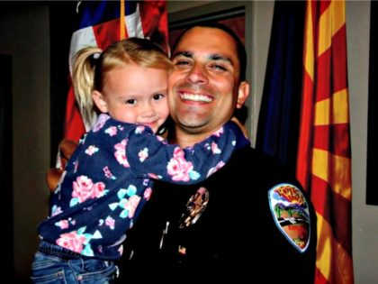 Officer Adopts Abused Girl