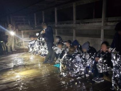 Rio Grande Valley Sector Border Patrol agents rescued 18 migrants from the frigid waters of the Texas border river with Mexico. (Photo: U.S. Border Patrol/Rio Grande Valley Sector)