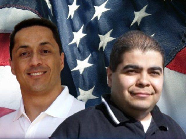 Former Border Patrol Agents Ignacio Ramos and Jose Compean. (Photo Courtesy of Caree Severson)