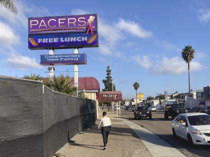 San Diego strip club (Elliot Spagat / Associated Press)