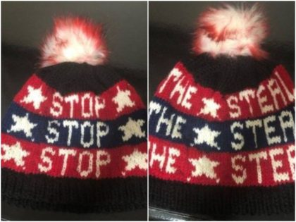 Stop the Steal Beanie Banned2