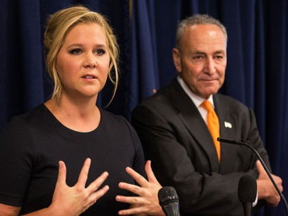 Amy Schumer Tells Georgians They Will Decide the Future of America