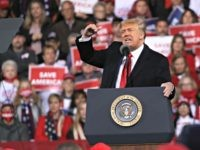 President Trump at Georgia Rally: 'I Worked Harder in Last Three Weeks Than I've Ever Worked in My Life'