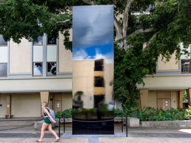 University of Hawaii monolith