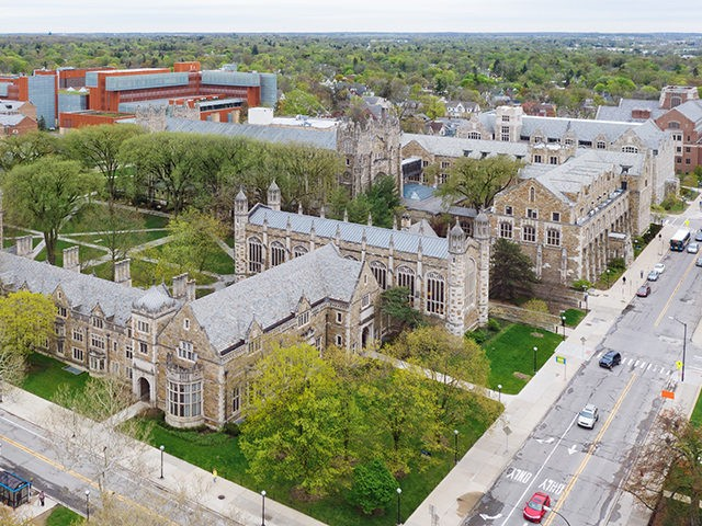 University of Michigan Law School, public institution.