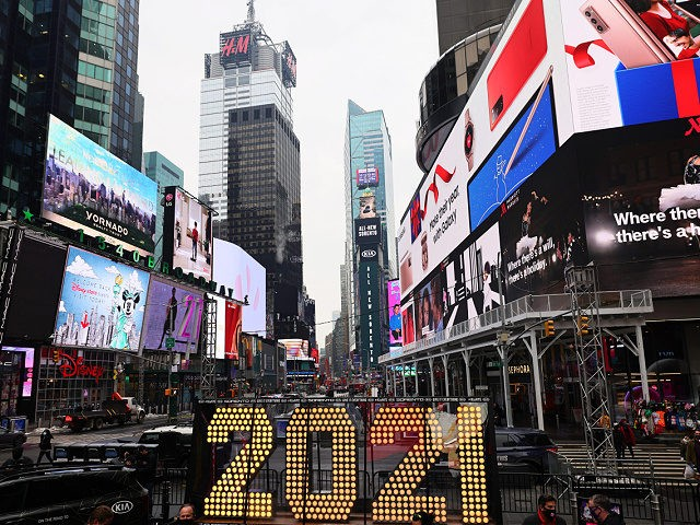 No Crowd for NYE Ball Drop in Times Square for First Time Since 1907