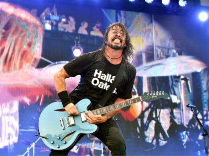 FRANKLIN, TENNESSEE - SEPTEMBER 22: Dave Grohl of Foo Fighters performs onstage during day 2 of the 2019 Pilgrimage Music & Cultural Festival on September 22, 2019 in Franklin, Tennessee. (Photo by Erika Goldring/Getty Images for Pilgrimage Music & Cultural Festival)