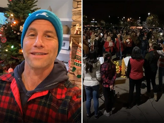 Kirk Cameron Leads 2nd Anti-Lockdown Singing Protest in California