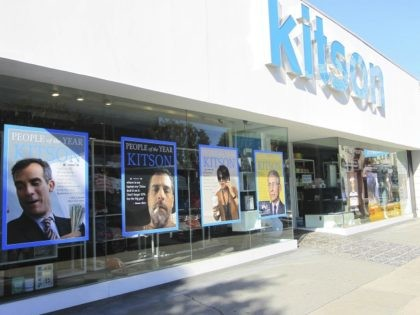 Photo by: gotpap/STAR MAX/IPx 2020 12/3/20 Kitson store pokes fun at 'Liberals' in Los Angeles, CA.