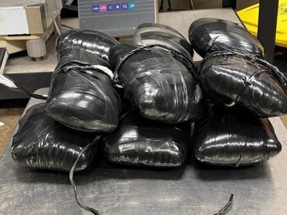 CBP officers in Eagle Pass, Texas, seized more than $1 million in meth at a U.S.-Mexico border crossing. (Photo: U.S. Customs and Border Protection)