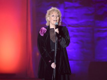 NEW YORK, NY - JUNE 13: Petula Clark performs onstage at the Songwriters Hall of Fame 44th Annual Induction and Awards Dinner at the New York Marriott Marquis on June 13, 2013 in New York City. (Photo by Theo Wargo/Getty Images for Songwriters Hall Of Fame)
