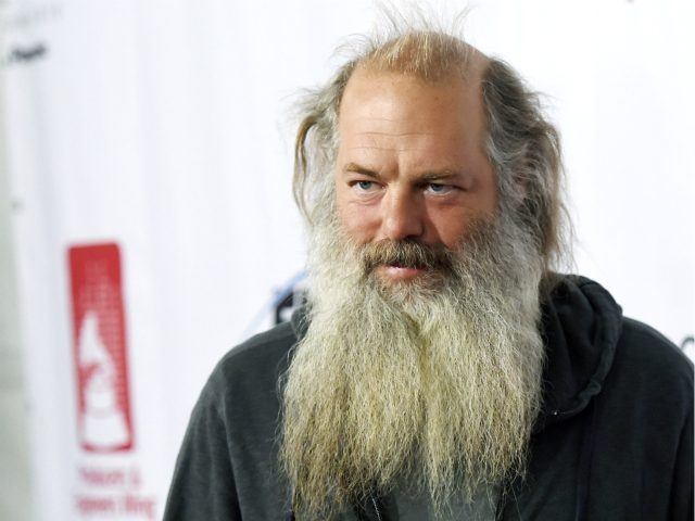 Music producer Rick Rubin poses at the 9th Annual Grammy Week Event honoring him at The Village Recording Studios on Thursday, Feb. 11, 2016, in Los Angeles. (Photo by Chris Pizzello/Invision/AP)