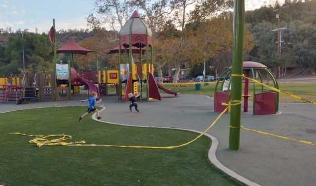 State says San Diego County playgrounds can remain open during stay-at-home order