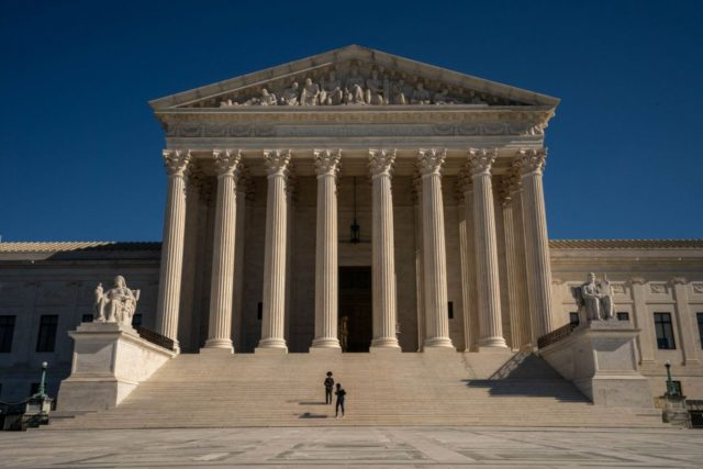 U.S. Supreme Court rejects Texas bid to challenge election